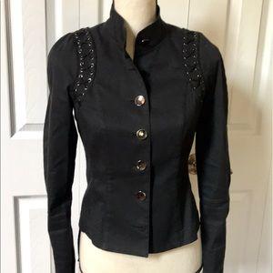 Worth Cotton Blend Blazer Jacket